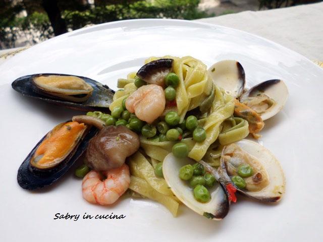 Fettuccine mare e monti - Ricetta gustosa - Sabry in cucina