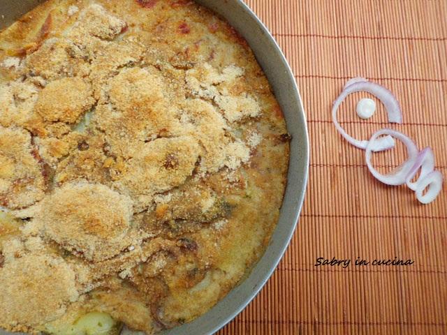 tiella riso patate cozze barese