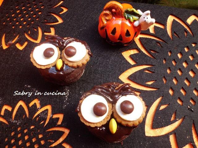 muffin gufetti idea halloween sabry in cucina