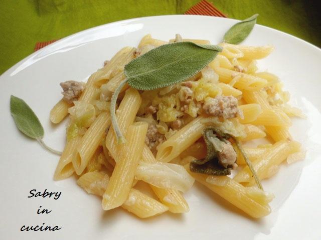 pasta verza salsiccia sabry in cucina