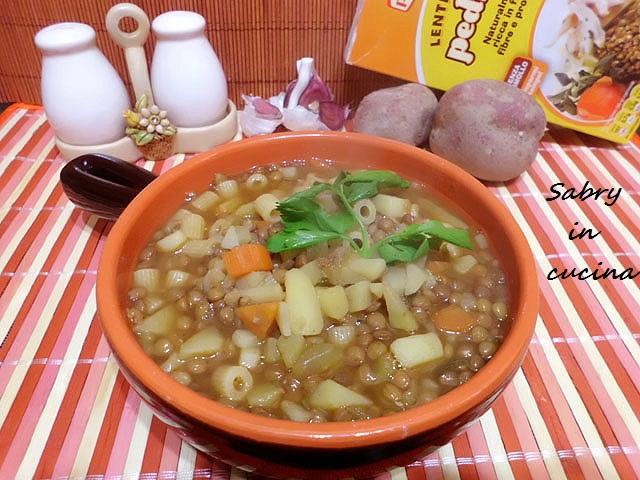 zuppa lenticchie patate2