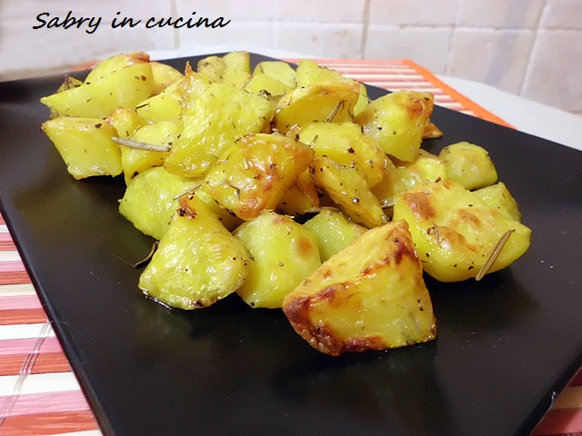 patate speciali croccanti sabry in cucina