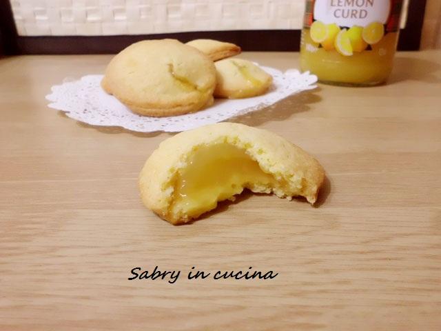 biscotti ripieni al limone tipo grisbì