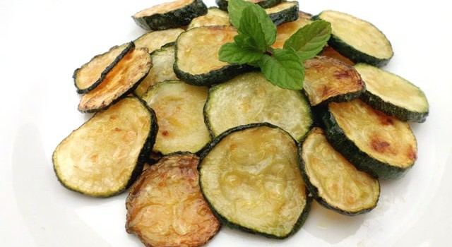 zucchine fritte a scapce