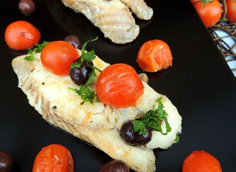 palombo pomodorini olive