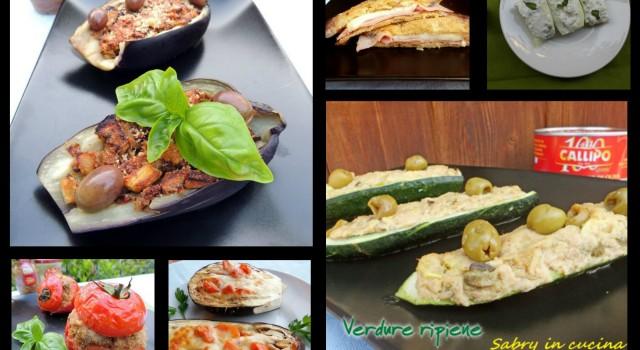 verdure ripiene raccolta di ricette