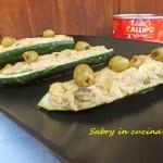 zucchine farcite di tonno ed olive