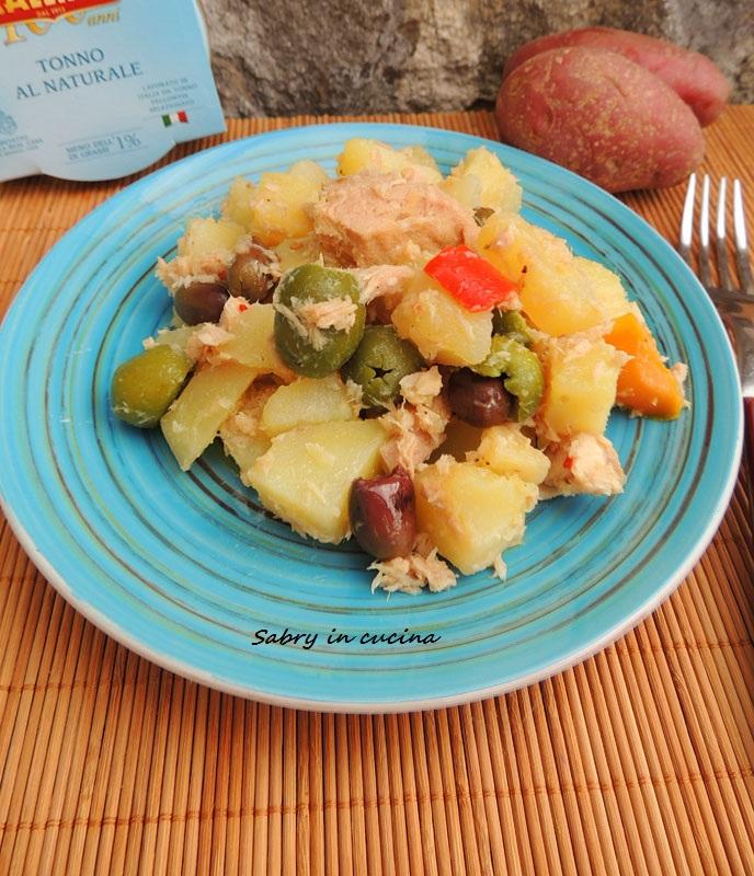 insalata patate tonno ed olive vert