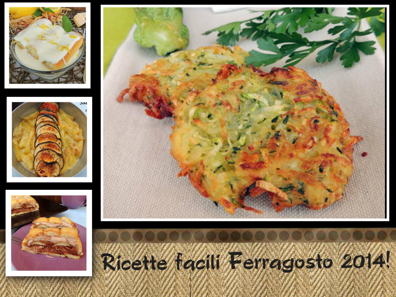 Ricette facili ferragosto 2014 sabry in cucina for Ricette cucina facili