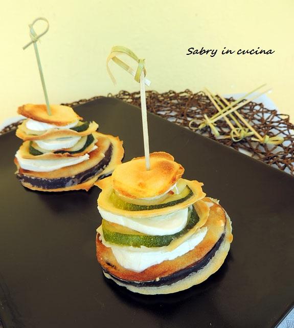 torrette di verdure pastellate al forno