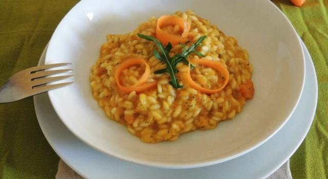 risotto carote zenzero