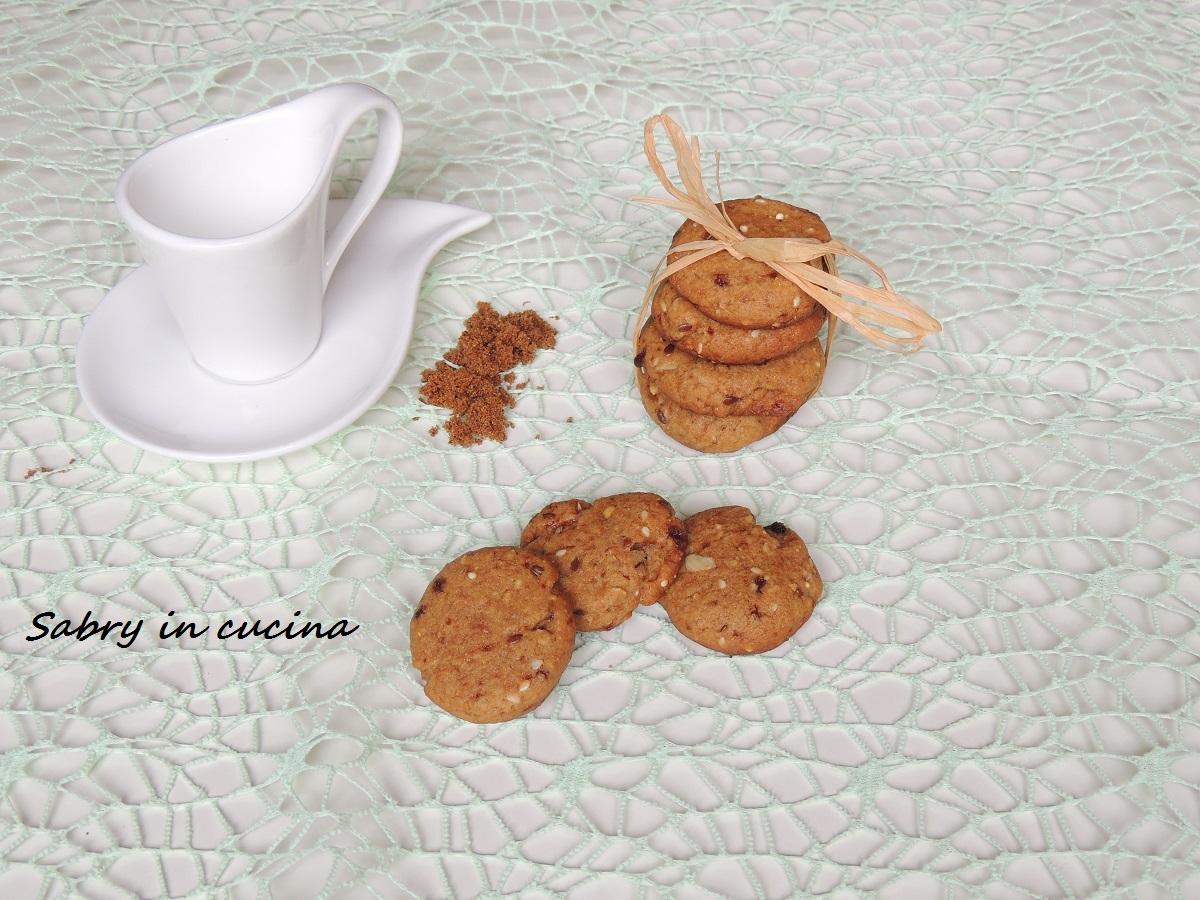 biscotti rustici con muscovado e miele