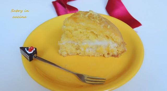 torta al limone farcita