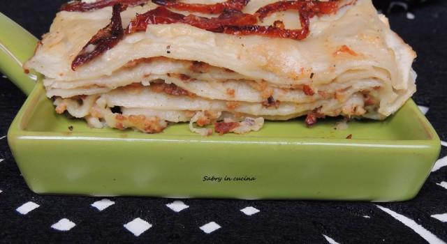 lasagna pomodori secchi ragu vegan