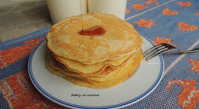 pancakes con quinoa
