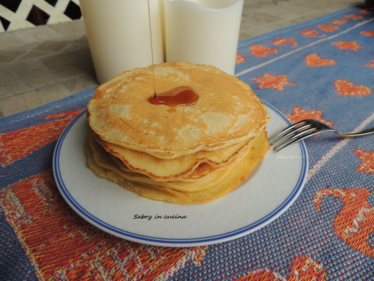 pancakes americani con quinoa