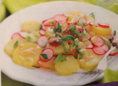Insalata di patate e ravanelli