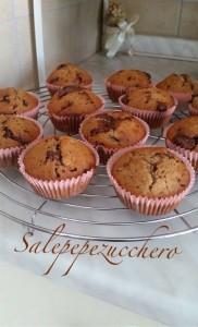 Ciocco banana muffin vegan