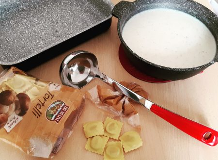 Tortelli al ragù bianco e porcini