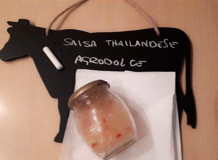 Salsa Thailandese Agrodolce