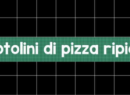 Rotolini di pizza ripieni con prosciutto e mozzarella