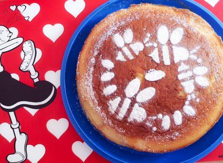 Torta fresca con crema alle pesche – Dolci Estivi