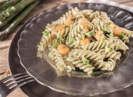 Fusilli Asparagi e Gamberi – Un piatto da Chef