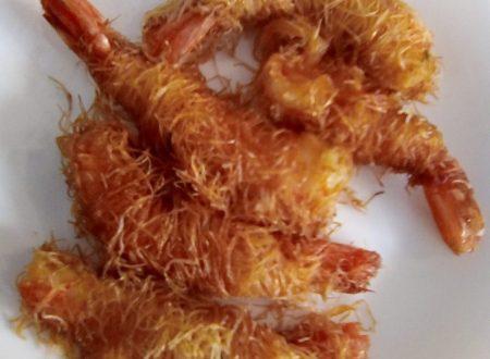 Gamberoni in pasta Kataifi – Aperitivo perfetto