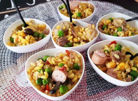 Insalata di riso gialla – Ricetta Estiva