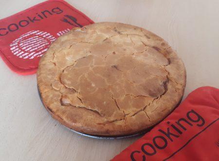 Torta rustica SENZA GLUTINE con pancetta, pomodoro e mozzarella