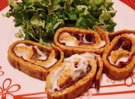 Rotolo di frittata alle carote – Videoricetta