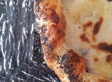 Torta salata con Besciamella e Bresaola