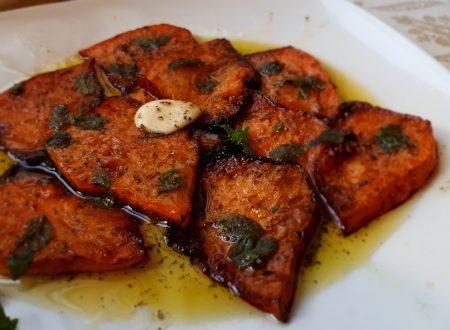 Zucca Rossa Fritta in Agrodolce – Ricetta Siciliana