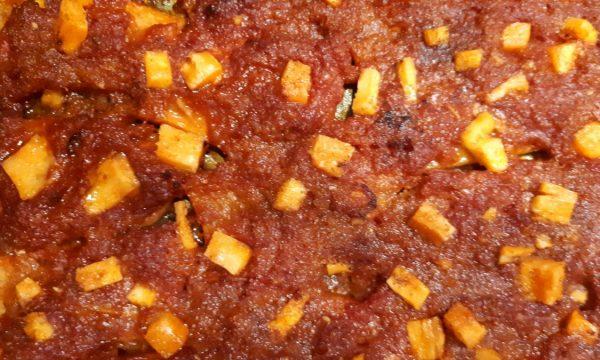 Zucca Rossa con Salsa Sfincione – Ricetta Siciliana