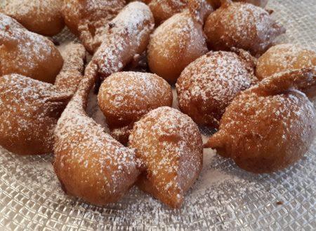 Frittelle dolci – Ricetta senza lievitazione