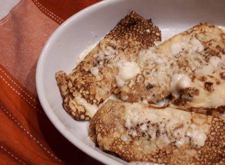 Crepes salate ai formaggi – Cremose e Gustose
