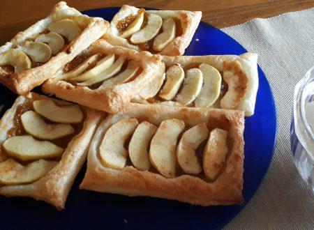 Sfogline di mele con marmellata di fichi e cannella