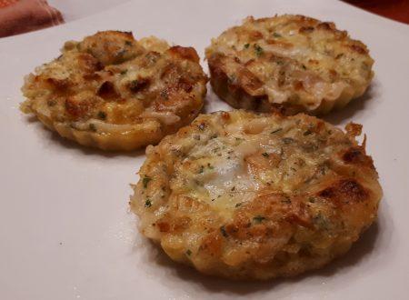 Mini frittatine di primosale al forno