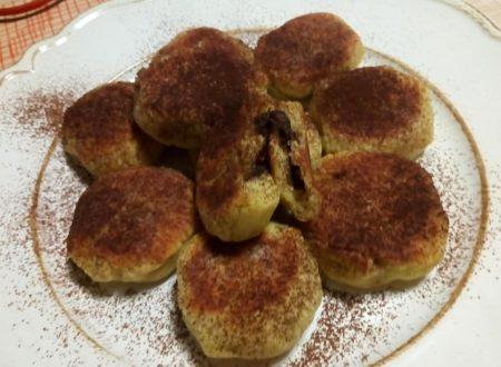 Polpette dolci di patate con cuore di Nutella