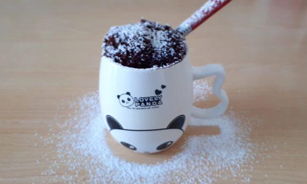Torta in tazza al microonde – MUG CAKE