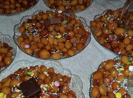 Struffoli o purteddruzzi salentini – Dolci natalizi