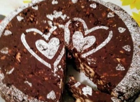 Torta Biscotto al Cioccolato – Senza cottura