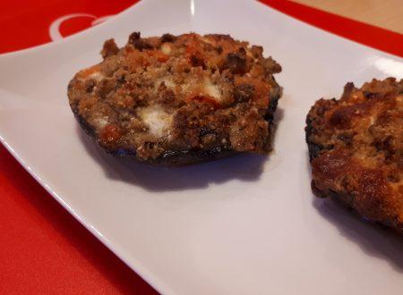Funghi Portobello ripieni – Facili e Veloci