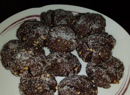 Biscotti ricotta, cacao e nocciole – Senza Burro e Uova