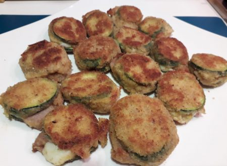 Cordon bleu di zucchine ripiene