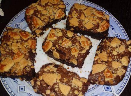 Brownies cioccolato e biscotti – Ricetta facile