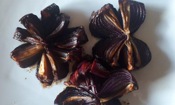 Cipolle rosse con aceto balsamico – Ricetta 3 ingredienti
