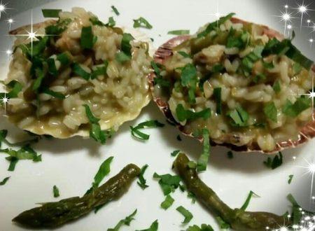 Risotto asparagi e vongole – Primo piatto da chef