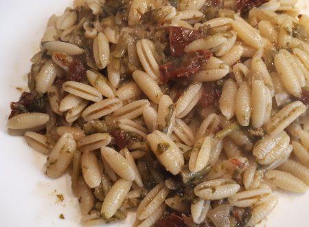 Gnocchetti sardi con cime di rapa e pomodori secchi
