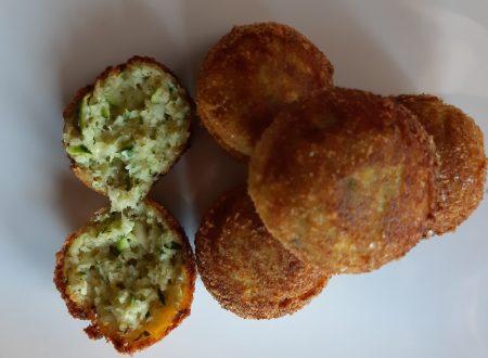 Polpette di zucchine fritte – Ricetta super facile